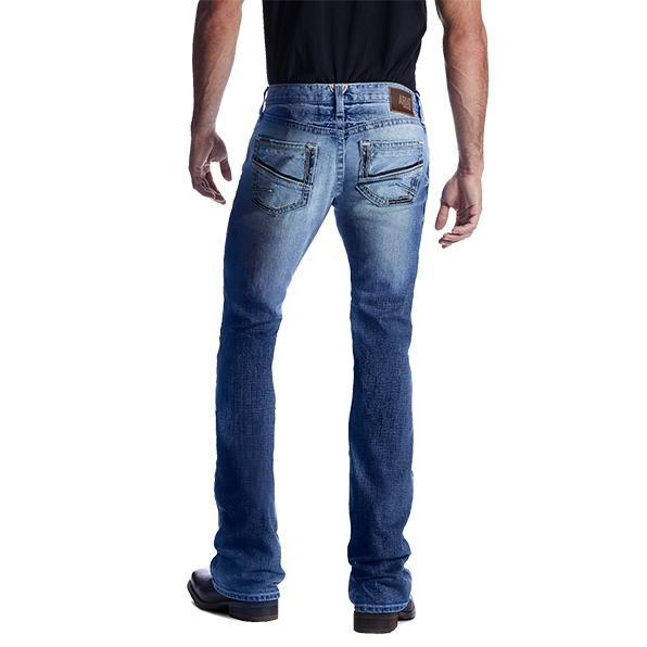 Ariat Mens M7 Rocker Shotwell Bootcut Jeans