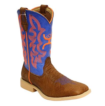 Twisted X Youth Neon Blue Hooey Cowboy Boot