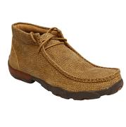 Twisted X Mens Distressed Grain Moccasin