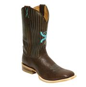 Twisted X Hooey Chocolate Square Toe Boot