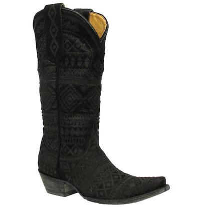 Old Gringo LS Zorrilla Black Hair Western Boots