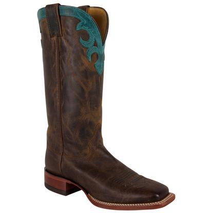 Justin Tan Vintage Goat Boots