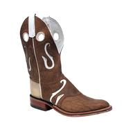 Olathe Men's Geronimo Bison Cowboy Boots