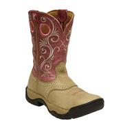 Twisted X Women's Dusty Tan Pink All Around Boot