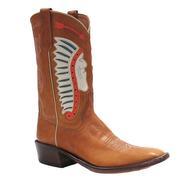Rios of Mercedes Kemo Sabe Cream Face Inlay Women's Boots