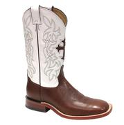 Tony Lama Beige Renegade White Delegance Mens Boots