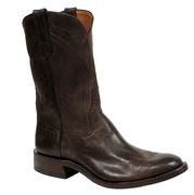 Rios of Mercedes Mad Dog Chocolate Leather Mens Roper Boots