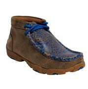 Twisted X Kids' Neon Blue Driving Moccasins