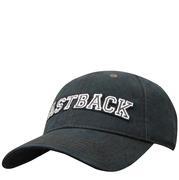 Fast Back Black Collegiate Cap