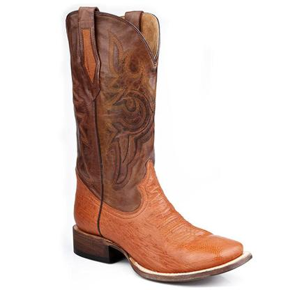Roper Men's Smooth Ostrich Western Boots