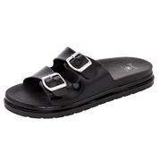Dizzy Brooch Sandal