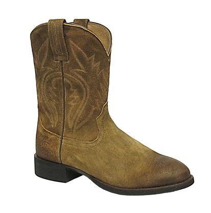 Ariat Mens Western Roper Antique Mocha Suede Boot