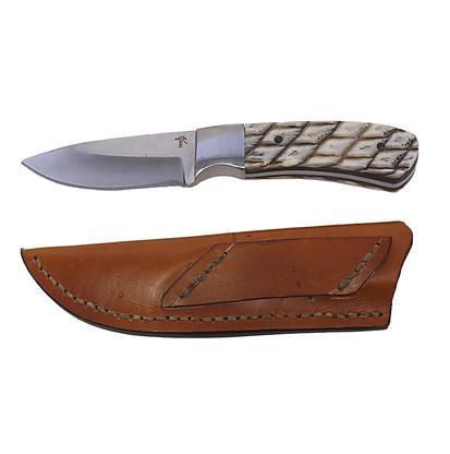 Tiger Skinner Knife with Alligator Gar