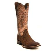 Roper Women's Exotic Smooth Ostrich Distressed Cowgirl Boots