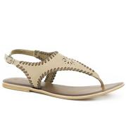 Roper Western Shoes Cut Out Thong Sandal