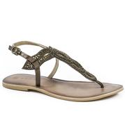 Roper Western Braided Thong Sandals