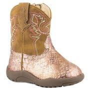 Roper Girls Glitz Ostrich Pink Boot