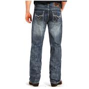 Rock & Roll Cowboy Mens Double Barrel Medium Vintage Jeans