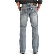 Rock & Roll Cowboy Mens Double Barrel Fit Bootcut Jeans
