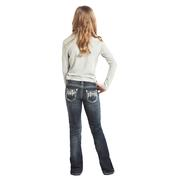 Rock & Roll Cowgirl Girls' Boot Cut Jeans