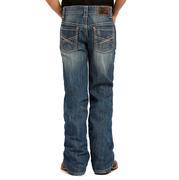 Rock & Roll Cowboy Boys' X Stitched Boot Cut Jeans