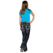 Rock & Roll Cowgirl Boot Cut Jeans