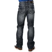 Rock & Roll Cowboy Mens Denim Embroidered Jeans