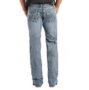 Rock & Roll Cowboy Mens Regular Fit Straight Leg Jeans