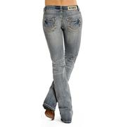 Rock & Roll Cowgirl Womens Denim Original Low Rise Juniors Jeans