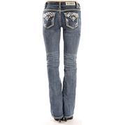 Rock & Roll Cowgirl Women's Mid Rise Boot Cut Jeans