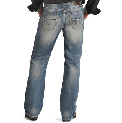 Rock & Roll Cowboy Mens Double Barrel Relaxed Fit Jeans