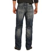 Rock & Roll Cowboy Mens Cannon Loose Fit Straight Leg Jeans