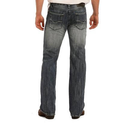 Rock n' Roll Cowboy Mens Pistol Straight Leg Jeans