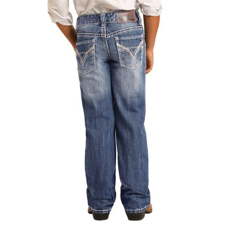 Rock & Roll Denim Boy's BB Gun Boot Cut Jeans