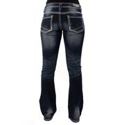 Rock & Roll Cowgirl Women's Rival Low Rise Jeans