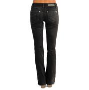 Rock & Roll Cowgirl Women's Rival Low Rise Boot Cut Jeans
