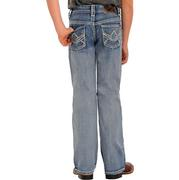 Rock & Roll Cowboy Boys Light Wash BB Gun Bootcut Jeans