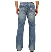 Rock & Roll Cowboy Mens Double Barrel Relaxed Medium Vintage Jeans