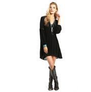 Rock & Roll Cowgirl Women's Long Sleeve Dress