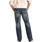 Rock & Roll Cowboy Mens Double Barrel Jeans Relaxed Fit