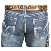 Rock & Roll Cowboy Men's Tuff Cooper Competition Fit Straight Leg Jeans