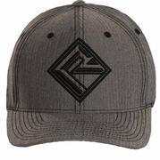 Rock & Roll Cowboy Men's Gray Flexfit Cap