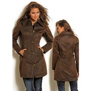 Rock & Roll Cowgirl Women's Western Long Trench Styled Coat