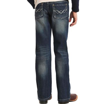 Rock & Roll Cowboy Boys' Dark Jeans