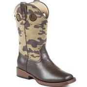 Roper Western Youth Camo Boots