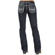 Rock & Roll Cowgirl Womens Boyfriend Fit Jeans