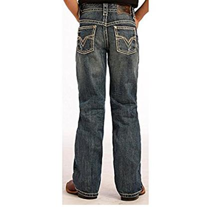 Rock & Roll Cowboy Boys Dark Wash Jeans
