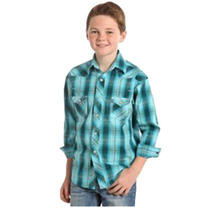 Rock & Roll Cowboy Boy's Long Sleeve Shirt