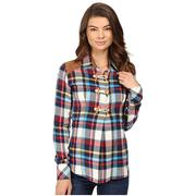 Rock & Roll Cowgirl Fashion Plaid Shirt
