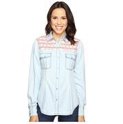 Rock & Roll Cowgirl Long Sleeve Western Snap Shirt
